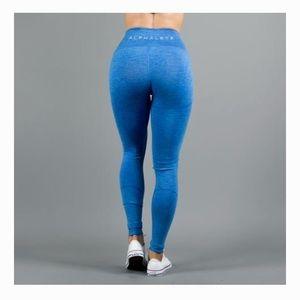 9fd8f9c8ff1f5d Alphalete Pants | Womens Revival Leggings V2 Atlantic Blue | Poshmark